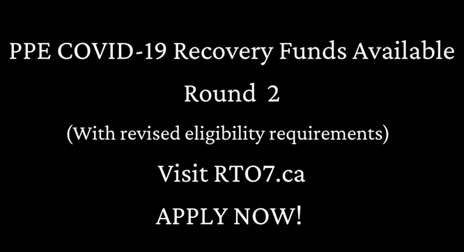 PPE COVID-19 Recovery Funds Applications Now Accepted for Round 2